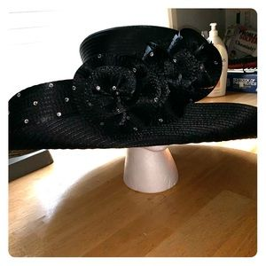 Lily and Taylor Couture Hat